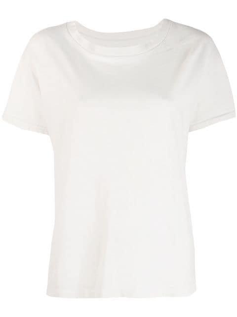Nili Lotan Classic Plain T-shirt