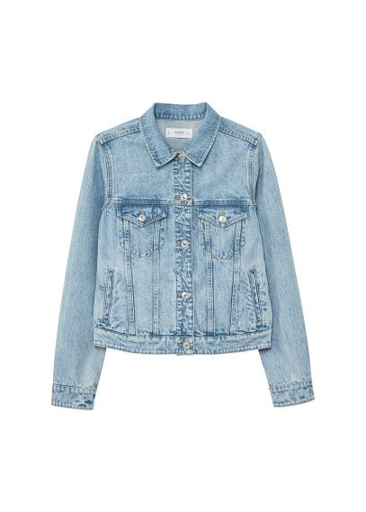 MANGO Light denim jacket
