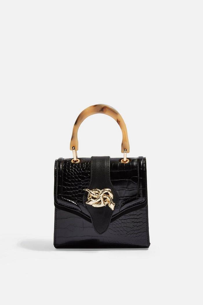 Twist Snake Cross Body Bag | Topshop