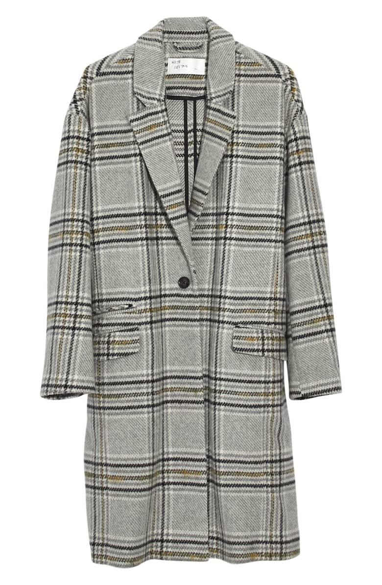 Madewell Plaid Bryant Coat | Nordstrom