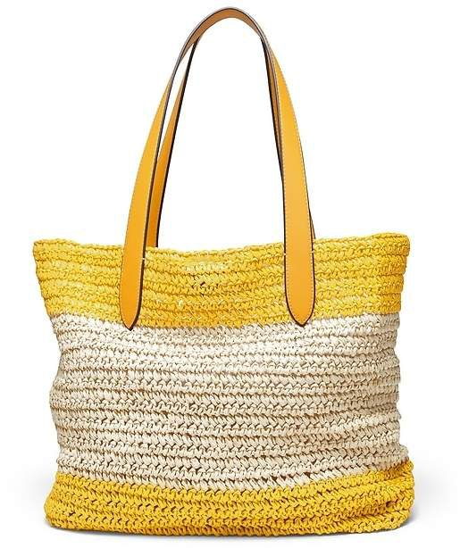 Straw Beach Tote Bag