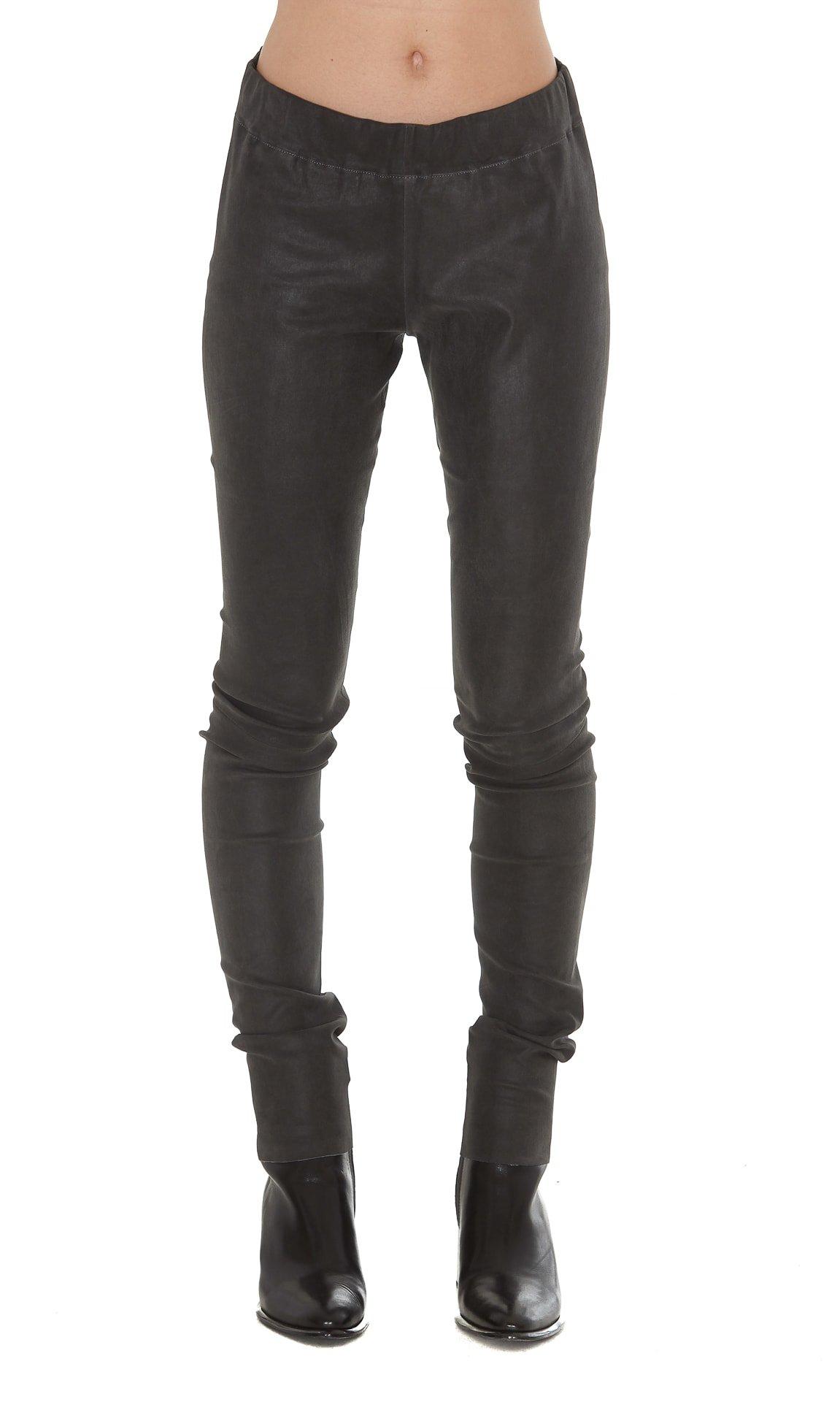 Sylvie Schimmel Fun Strecht Vintage Leather Trousers
