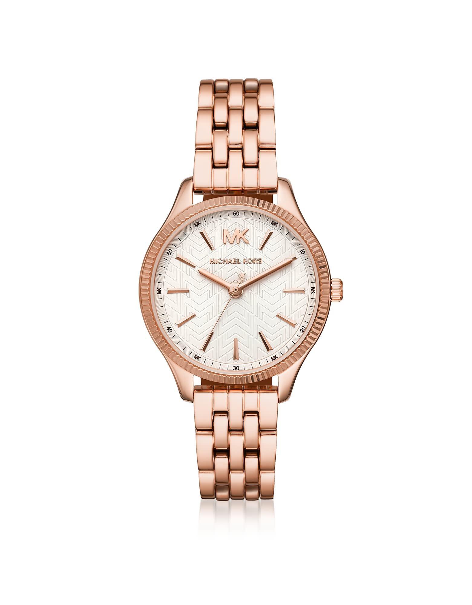 Michael Kors Lexington Rose Gold-tone Watch