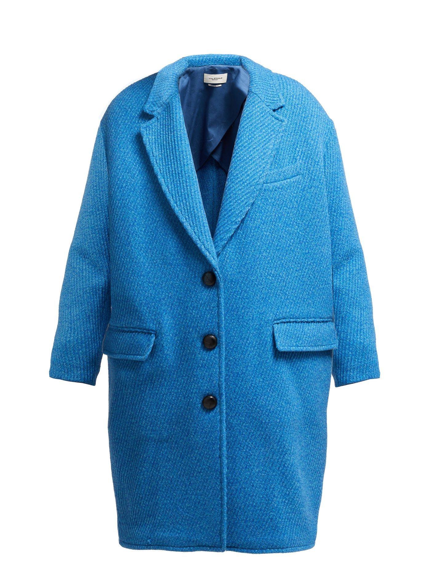 Gimi oversized wool-blend coat | Isabel Marant Étoile | MATCHESFASHION.COM