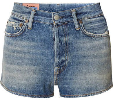 Magee Denim Shorts - Mid denim