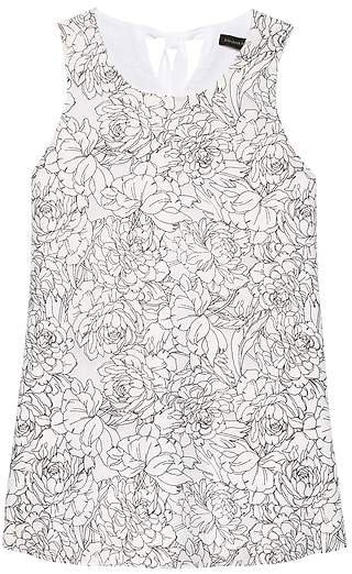 Floral Bow-Back Tank