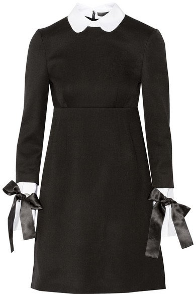 Alexander McQueen | wool mini dress