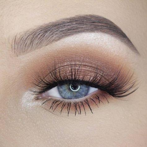 PINTEREST - Brown smokey eye