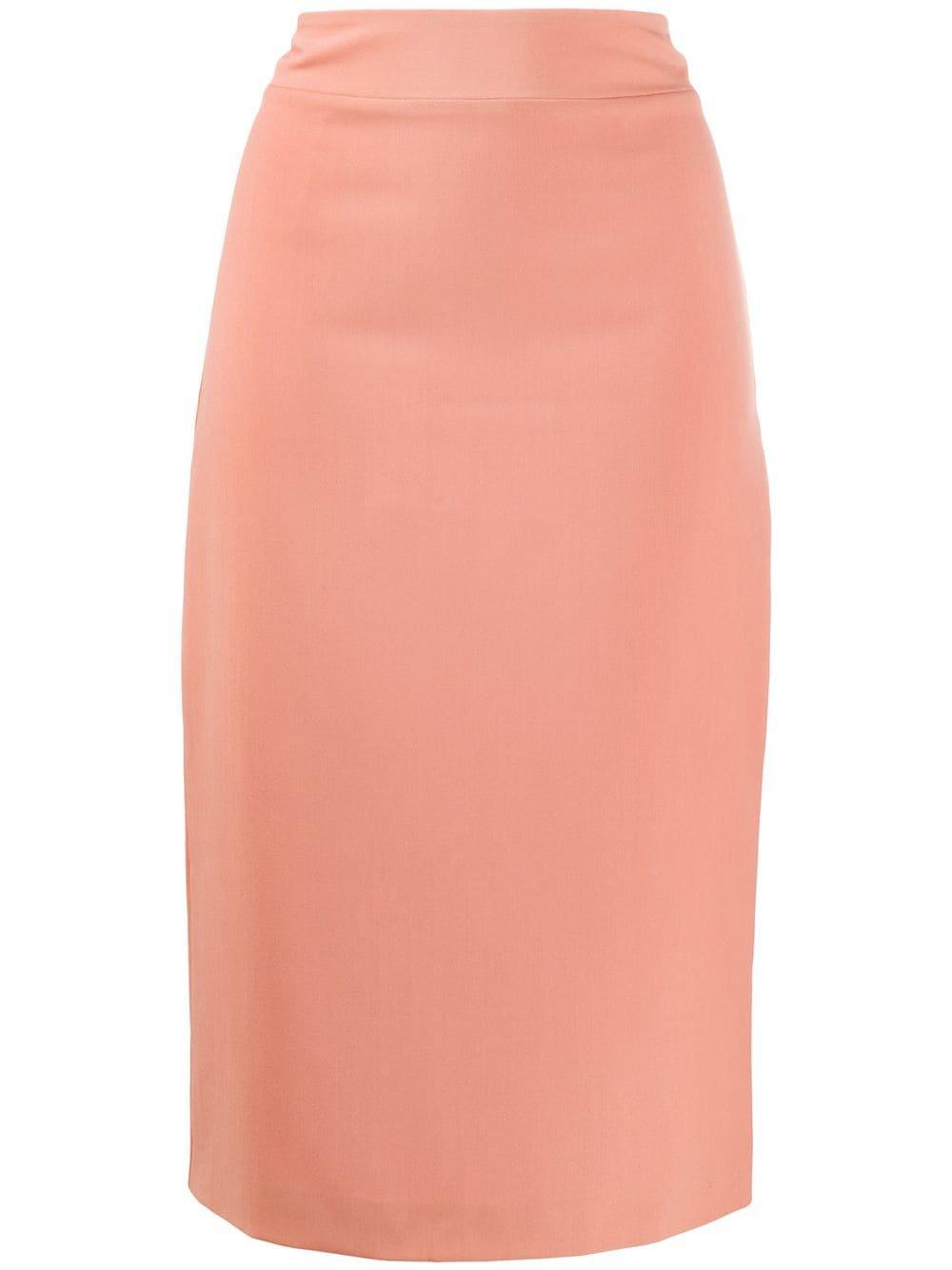 Blumarine High-Waisted Pencil Skirt