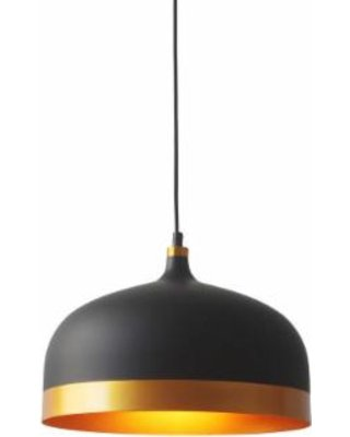 Amazing Savings on Light Society Melaina Black and Gold Pendant Lamp (Matte Black/Gold)