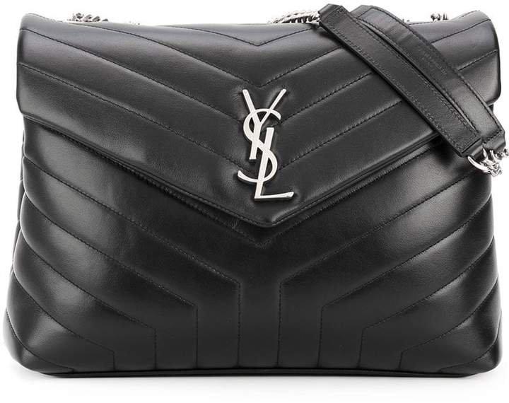 Black Loulou Leather Shoulder bag