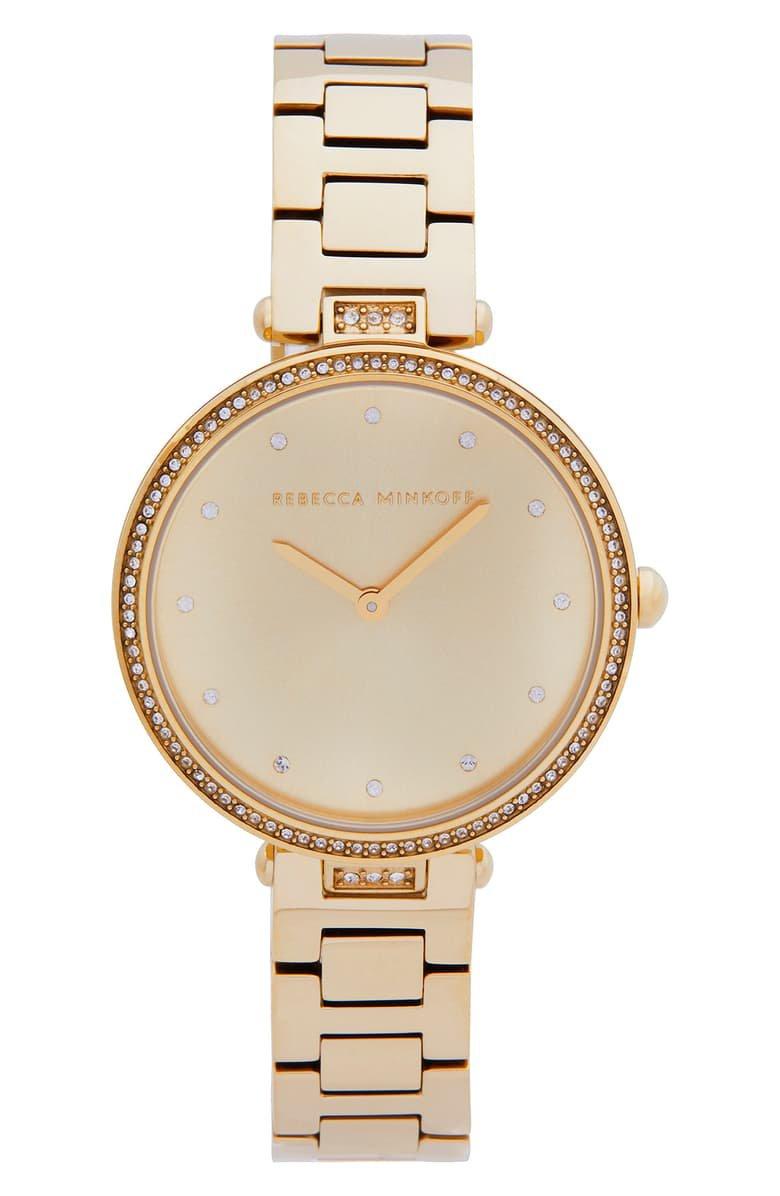 Rebecca Minkoff Nina Bracelet Watch, 33mm | Nordstrom