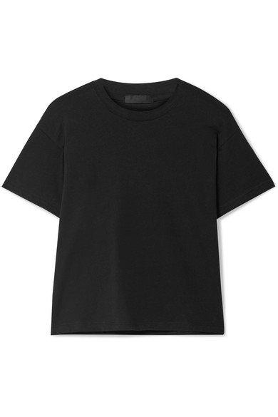 ATM Anthony Thomas Melillo | Schoolboy slub cotton-jersey T-shirt | NET-A-PORTER.COM