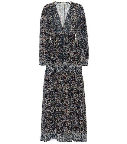 Alethea floral cotton maxi dress