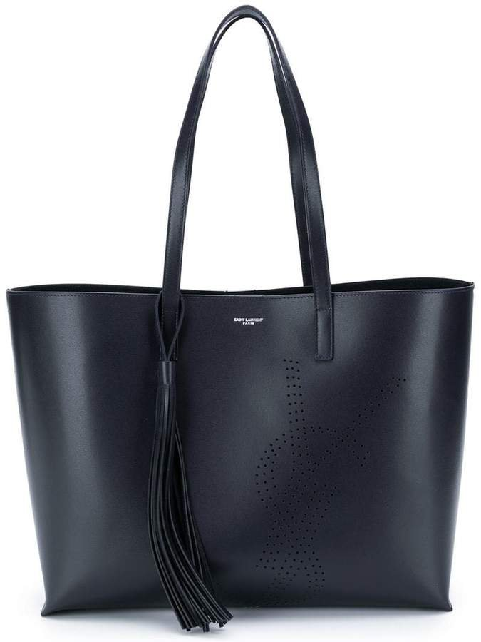 perforated shopper tote
