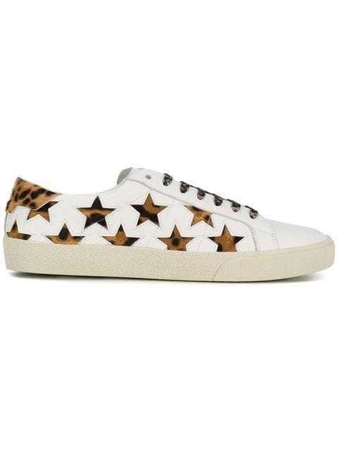 Saint Laurent leopard Signature Court SL/06 California sneakers $417 - Buy Online - Mobile Friendly, Fast Delivery, Price