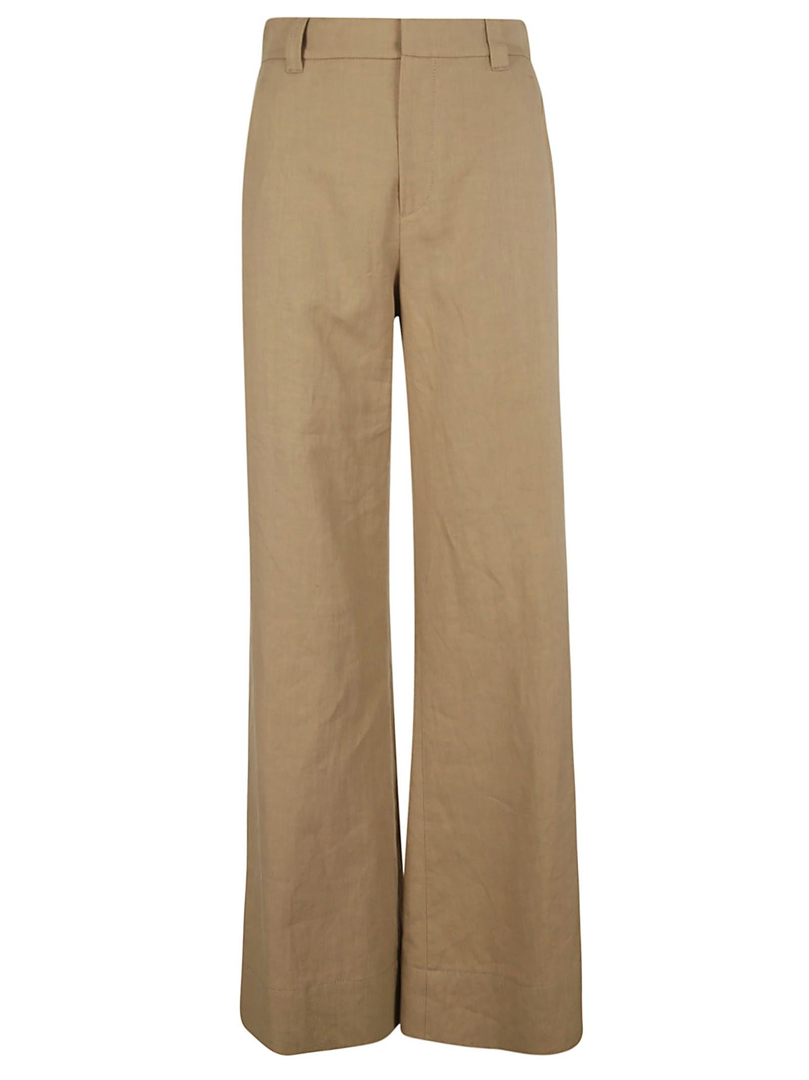 Brunello Cucinelli Wide Leg Trousers