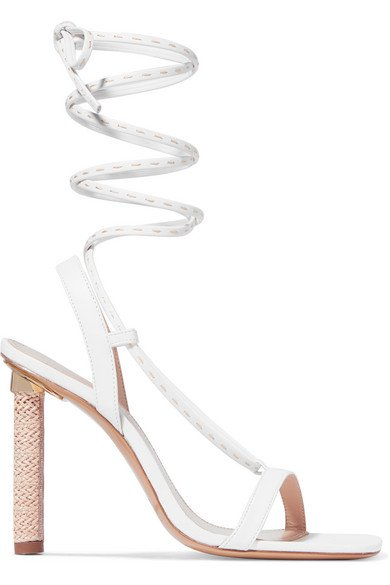 Jacquemus | Bergamo leather sandals | NET-A-PORTER.COM