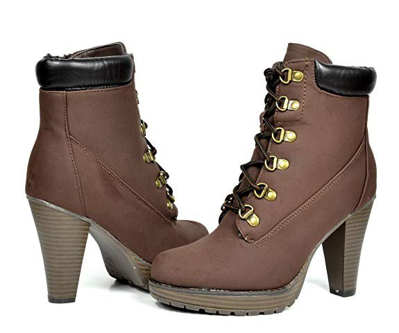 Amazon.com | DREAM PAIRS Women's Fashion Ankle Boots - Chunky High Heel Booties | Ankle & Bootie