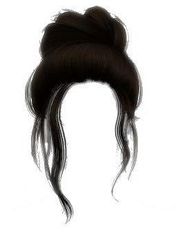 hair bun edit