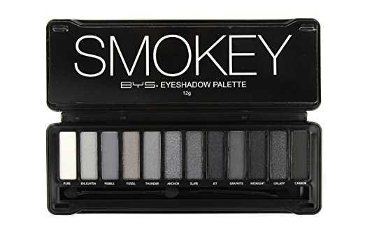 Amazon.com : BYS 12 Color Eyeshadow Palette, Nude Smokey, 3 Ounce : Beauty
