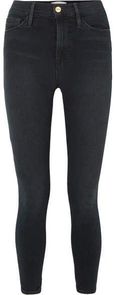 Ali High-rise Skinny Jeans - Black