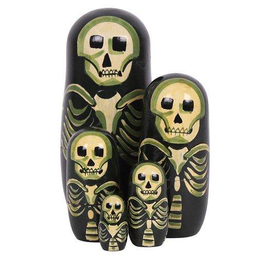 Skeleton Russian Dolls - October31st