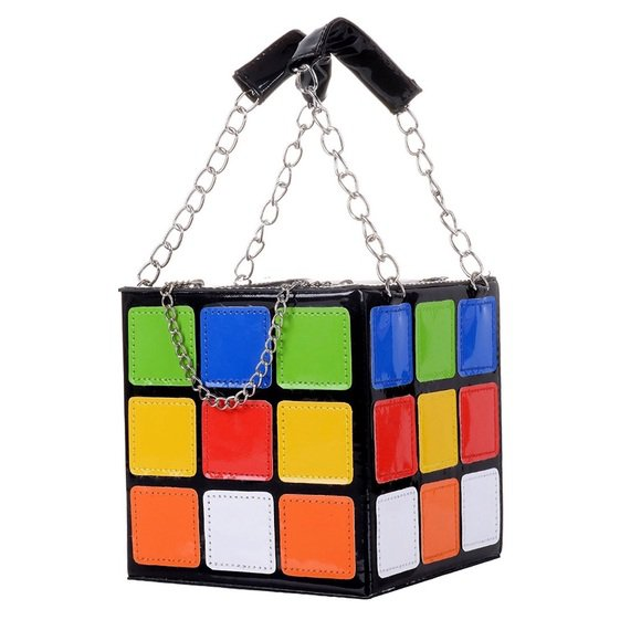 Dolls Kill Bags | Rubiks Cube Mini Tote | Poshmark