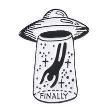 UFO Enamel Pins – WeirdGirlsClub