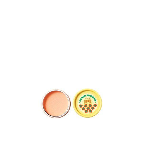 LOVELY MEEX PASTEL CUSHION BLUSHER 05 Peach Cushion : a The Face Shop Exclusive