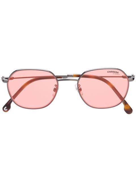 Carrera hexagonal sunglasses