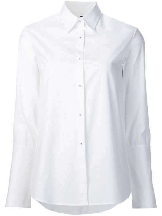 White Button Down Shirt