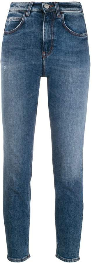 Haikure high rise cropped skinny jeans