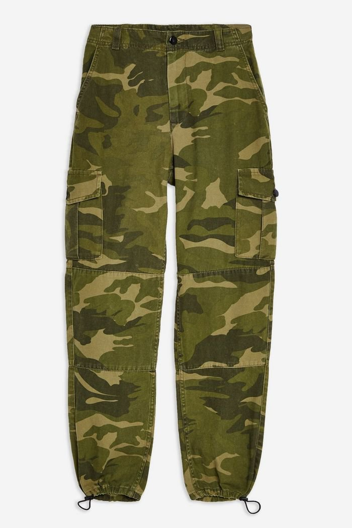 PETITE Combat Camouflage Trousers | Topshop