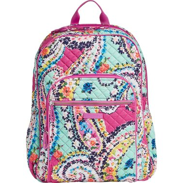 Vera Bradley Iconic Campus Backpack, Wildflower Paisley | Shop By Pattern | Shop The Exchange