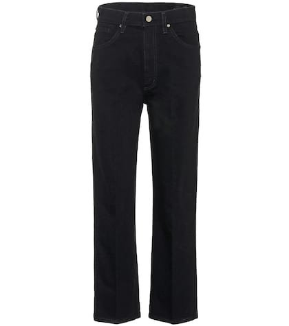 The Cropped A high-rise jeans