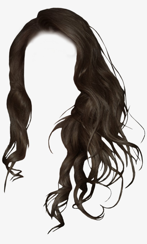 Black Hair Png Image Transparent Library - Girls Hair Style Png PNG Image   Transparent PNG Free Download on SeekPNG