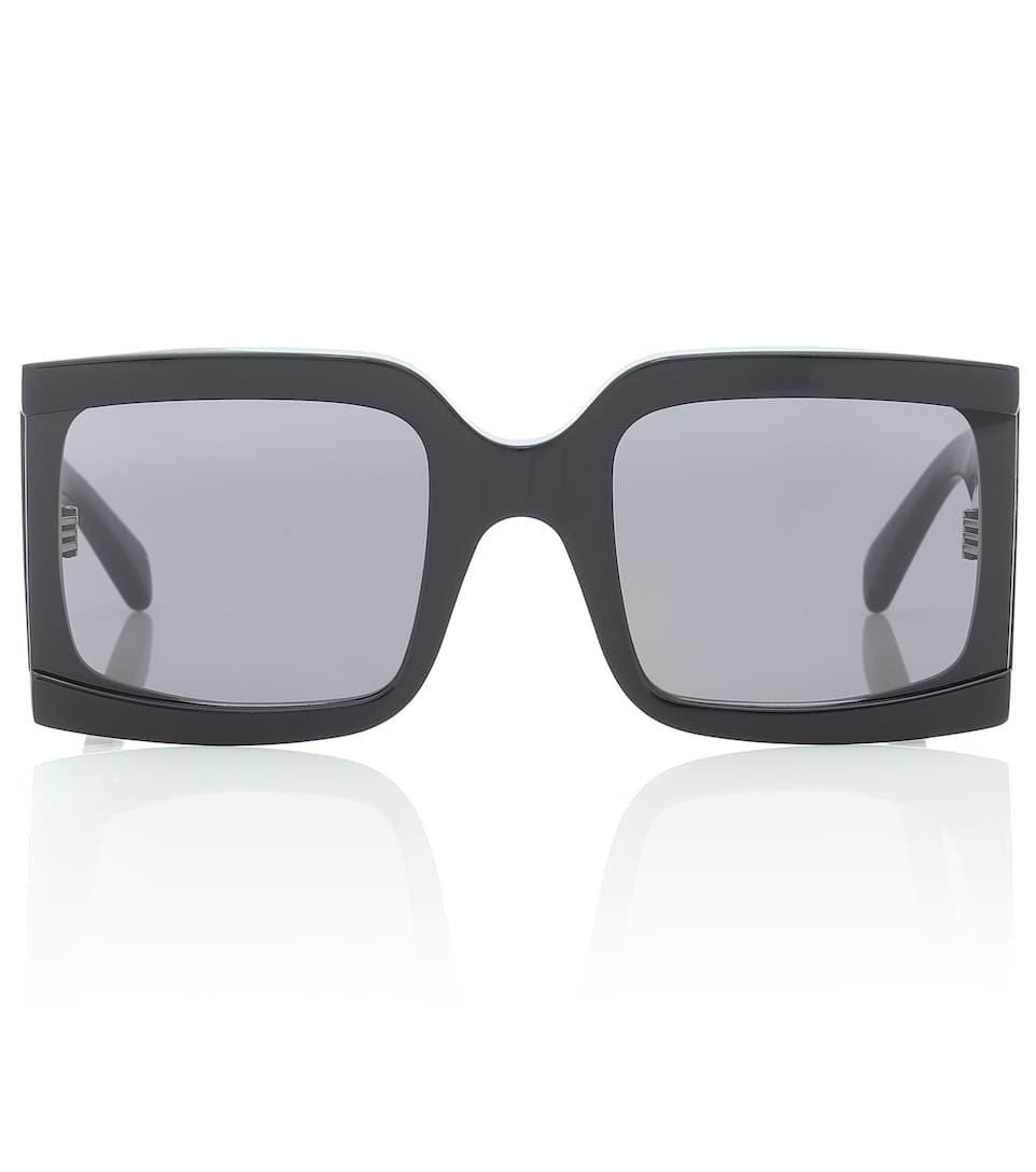 Square Acetate Sunglasses   Celine Eyewear - mytheresa