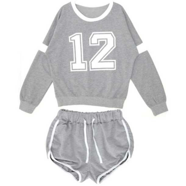 8q09kb-l-610x610-sweater-pajamas-shorts-grey-white-numbers-high+school-college-cute-blouse.jpg (610×610)