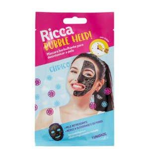 Máscara Ricca Bubble Help! de Limpeza Facial | Beleza na Web