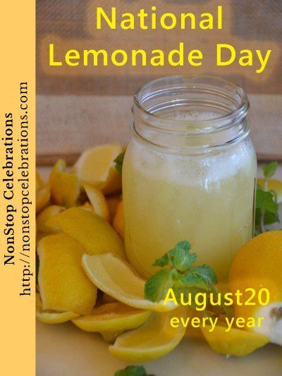 national lemonade day august 20 - Google Search