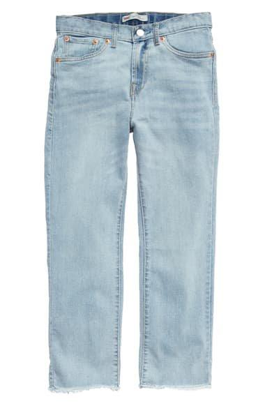Levi's® High Waist Straight Leg Jeans (Big Girls) | Nordstrom