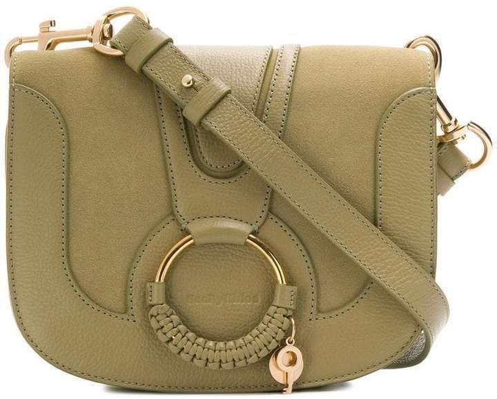 Hana medium saddle bag