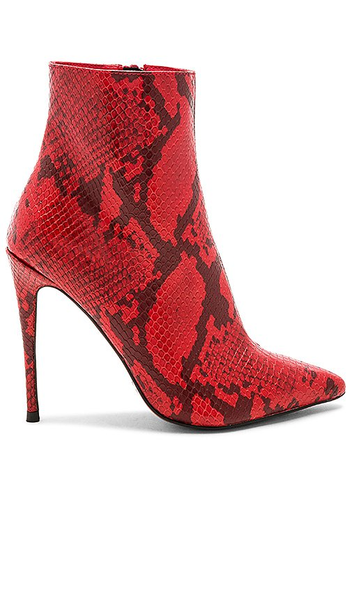 by the way. Amber Bootie in Red   REVOLVE