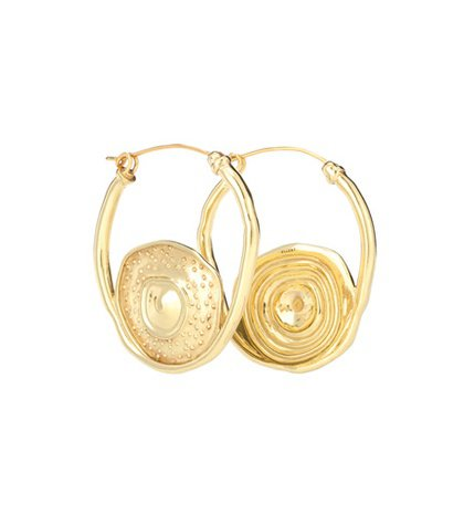 Single Pop hoop earrings