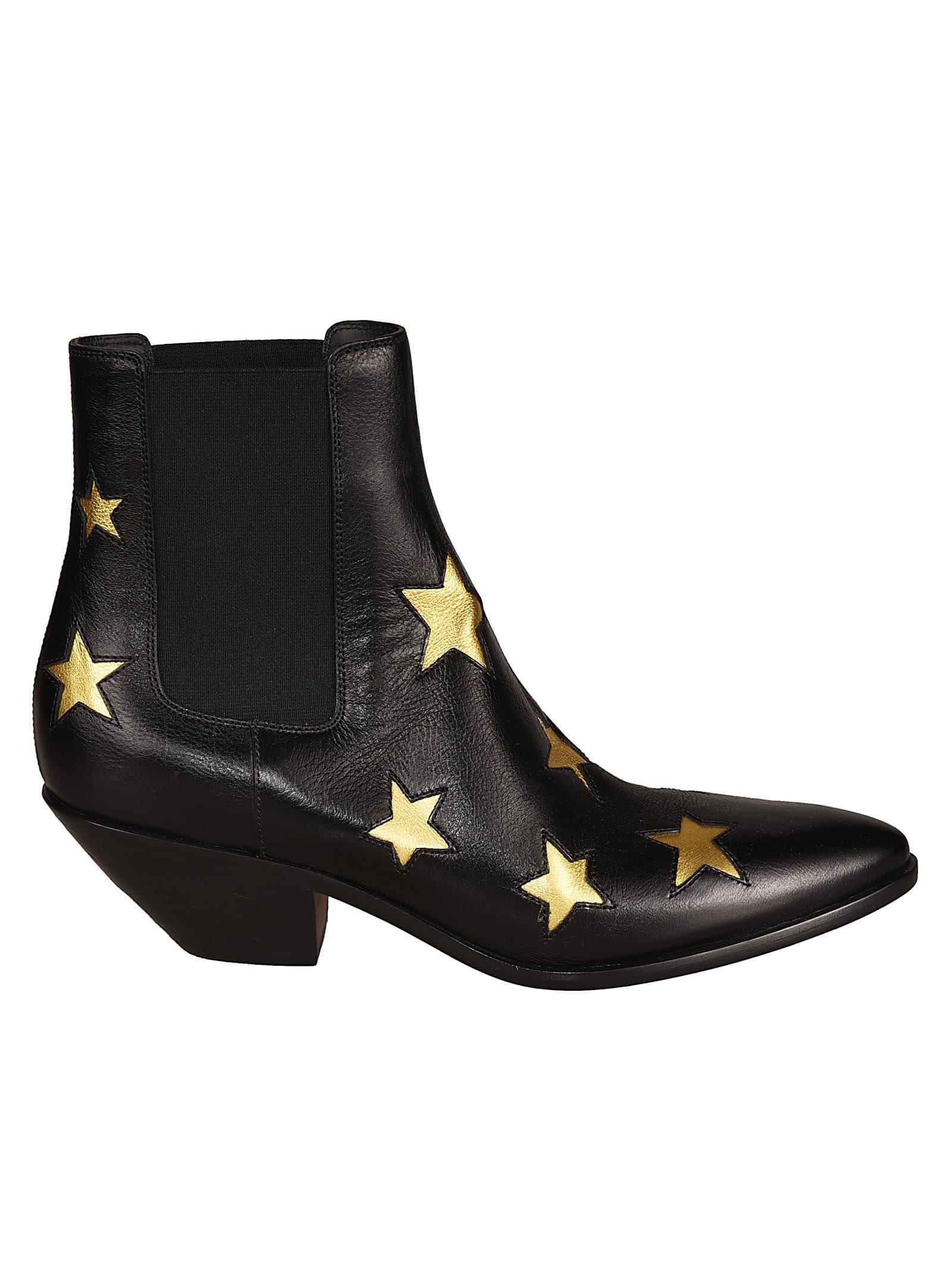 Saint Laurent West 45 Chelsea Ankle Boots