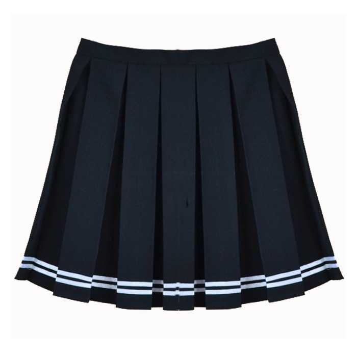 BLACK STRIPED TENNIS SKIRT on Storenvy