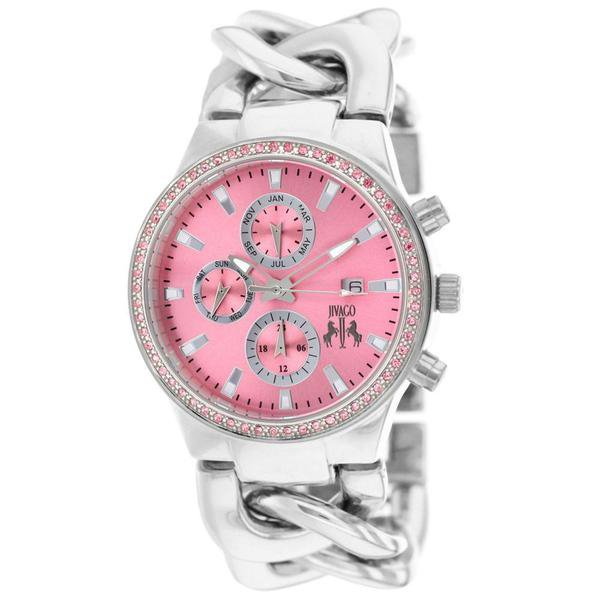 Watches | Shop Women's Pink Quartz Watch at Fashiontage | JV1228