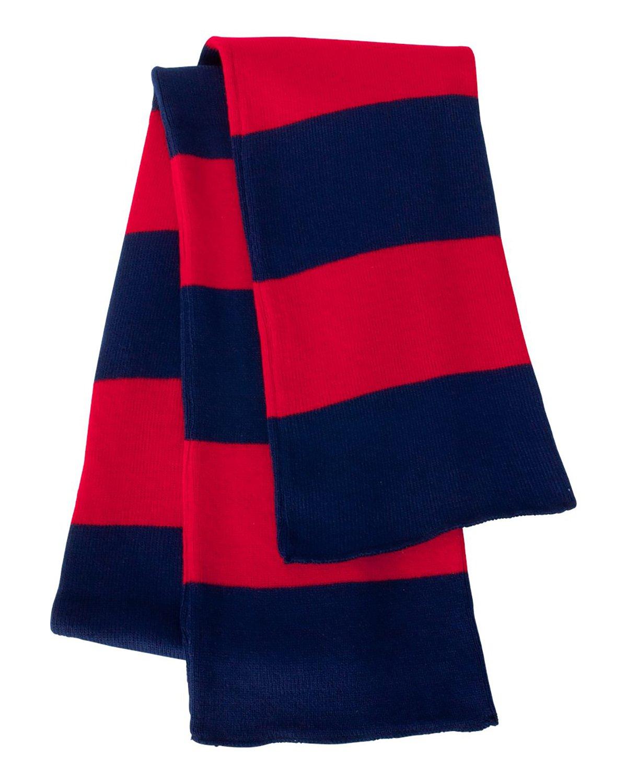 Wholesale Sportsman SP02   Buy Rugby Striped Knit Scarf - VeeTrends.com