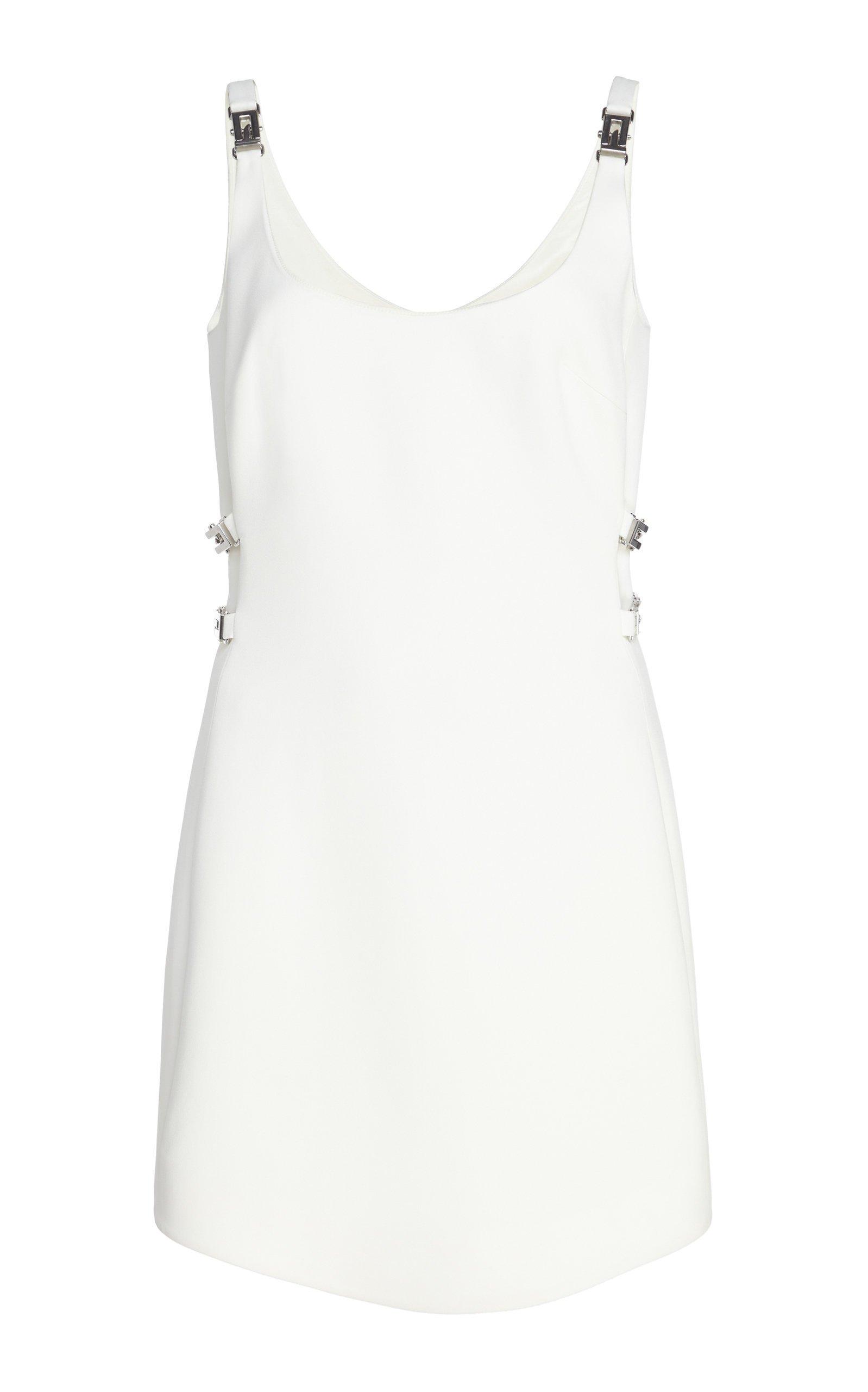 David Koma Buckled Mini Dress